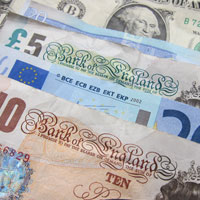 Photo of various banknotes | Lonsdale Insurance Brokers | Accounts Department