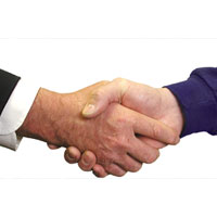 Photo of handshake | Lonsdale Insurance Brokers | Surety Bonds