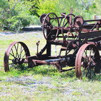 Photo of broken farm equipment | Lonsdale Insurance Brokers | Warranty