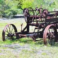Photo of broken farm equipment | Lonsdale Insurance Brokers | Warranty