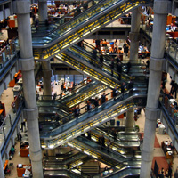 Photo of interior of Lloyd's of London | Lonsdale Insurance Brokers
